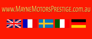 Mayne Motors Prestige